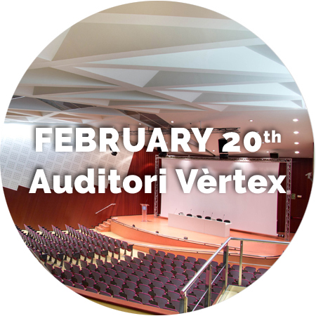 February 20th. Auditori Vèrtex.